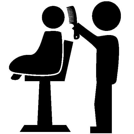 دانلود وکتور آرایشگاه مردانه