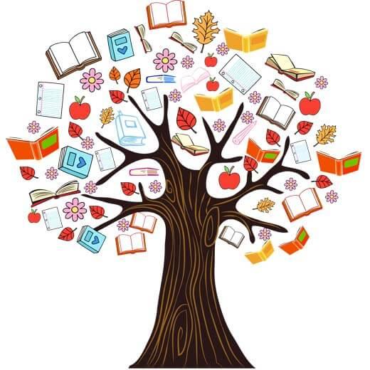 دانلود وکتور درخت دانش