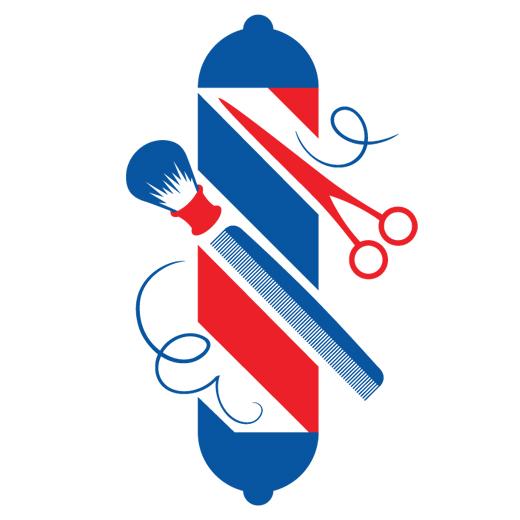 دانلود نماد آرایشگاه مردانه