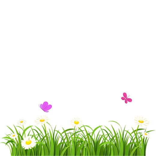 وکتور گل و بوته کارتونی