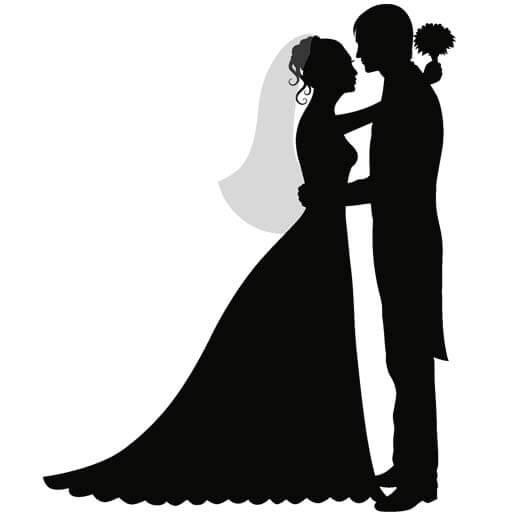 دانلود وکتور عروس داماد