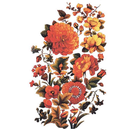 گل و بوته اسلیمی png