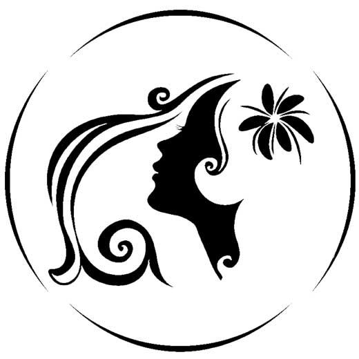 طرح وکتور لوگوی آرایشگاه زنانه